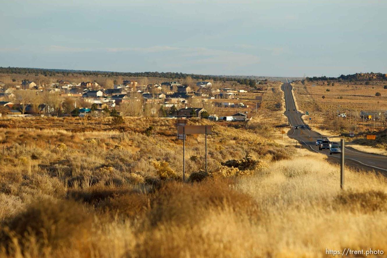 highway and colorado city, Thursday November 29, 2012.