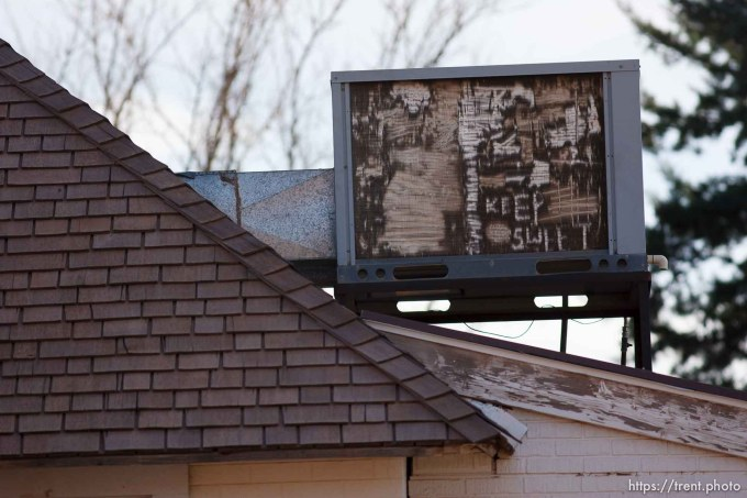 Trent Nelson   The Salt Lake Tribune The FLDS phrase Keep Sweet appears on a cooling unit above a home Thursday November 29, 2012 in Colorado City.