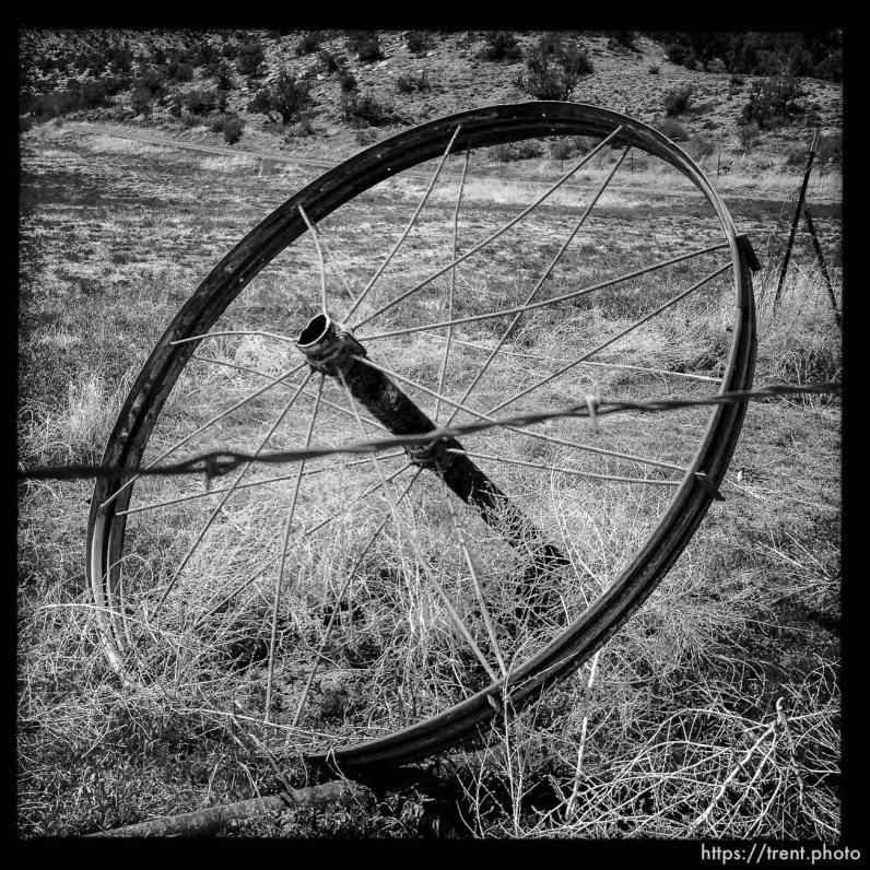 farming equipment - water wheel