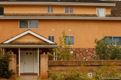 Trent Nelson | The Salt Lake Tribune home, in Colorado City Thursday, October 10, 2013.