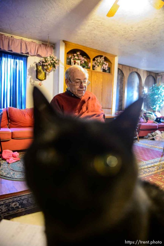 Trent Nelson   The Salt Lake Tribune Marvin Wyler in his Hildale home, Saturday December 14, 2013.