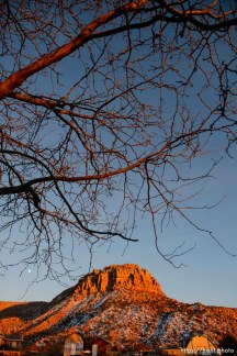 Trent Nelson   The Salt Lake Tribune The sun sets on on Hildale and Colorado City Saturday December 14, 2013.