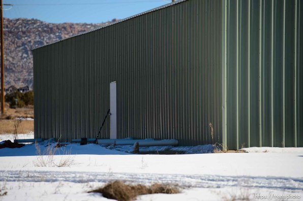 Trent Nelson | The Salt Lake Tribune rabbit place in hildale Sunday December 15, 2013.