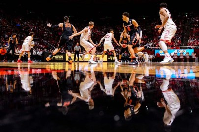 Trent Nelson | The Salt Lake Tribune as the University of Utah hosts Oregon State, NCAA basketball at the Huntsman Center in Salt Lake City, Saturday January 28, 2017.