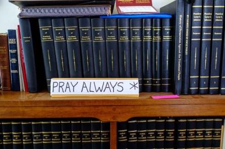 Pray Always, Hildale, Monday February 13, 2017.