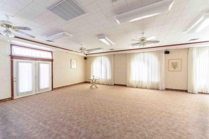Trent Nelson | The Salt Lake Tribune The prayer room at the former home of Warren Jeffs in Hildale, Wednesday April 5, 2017.