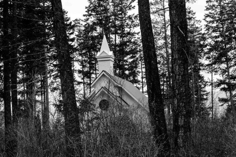 small chapel, bountiful, Monday April 17, 2017.