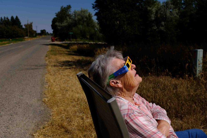 diana godfrey Monday August 21, 2017. solar eclipse