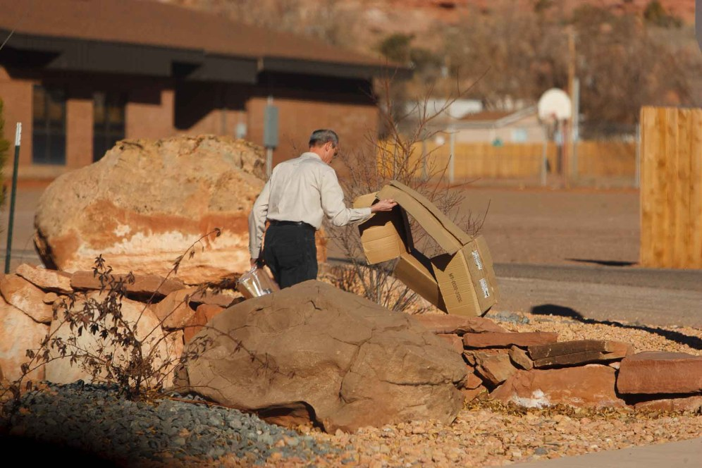 Trent Nelson | The Salt Lake Tribune leroy jeffs, in Hildale, Utah, Saturday, January 14, 2012.
