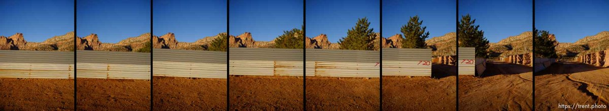 walls, roads, hildale/colorado city, Wednesday January 14, 2015.