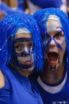 Bingham high school basketball fans. Bingham vs. Alta. 2.15.2005