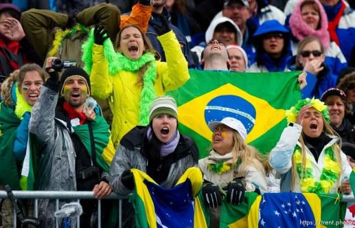 Cheering for Brazil