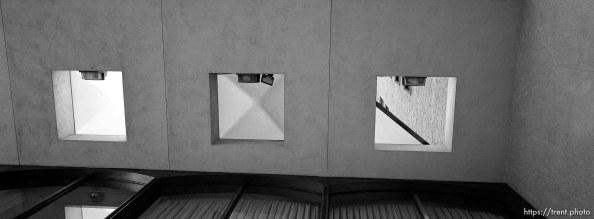Three skylights.