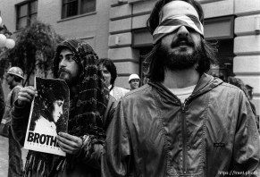 Gulf War protesters