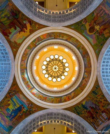 Trent Nelson   The Salt Lake Tribune The dome of the State Capitol Building in Salt Lake City, Friday, February 28, 2014.