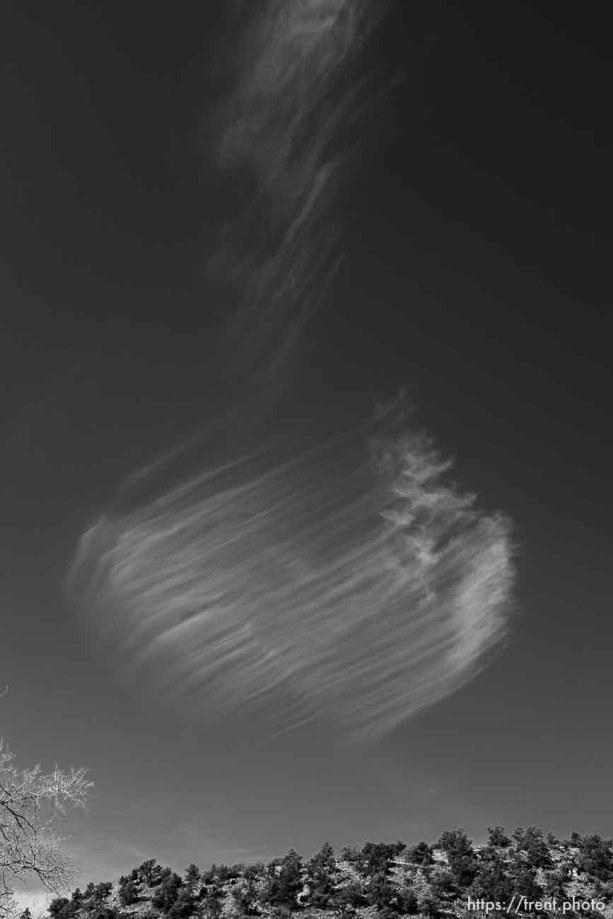 cloud, Hildale/Colorado City, Friday March 16, 2018.