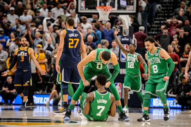 Utah Jazz v Boston Celtics