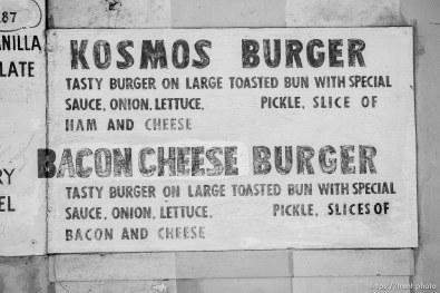 Kosmos Burger, Ogden, Thursday July 19, 2018.