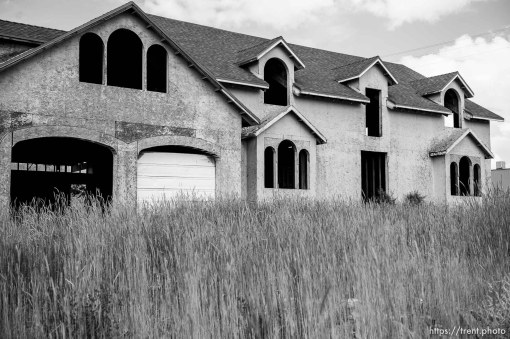 Trent Nelson | The Salt Lake Tribune empty home, Monday May 8, 2017.