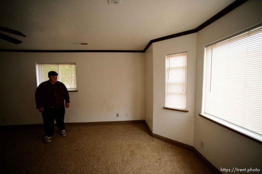Trent Nelson   The Salt Lake Tribune Marvin Darger's room in the home he lived in, just before the UEP evicted his family from property at 555 N Lauritzen Ave, Colorado City, AZ, Wednesday May 10, 2017.