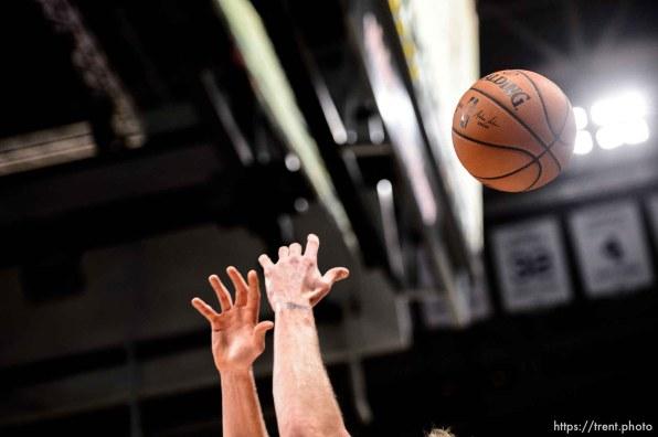 (Trent Nelson   The Salt Lake Tribune) Utah Jazz vs Memphis Grizzlies, NBA basketball in Salt Lake City on Friday Nov. 2, 2018.