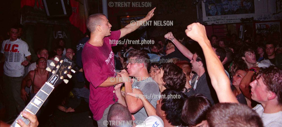 Youth of Today at Gilman Street.
