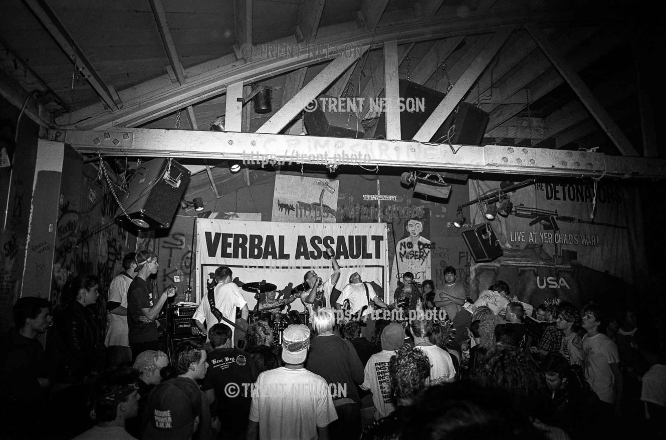 Verbal Assault at Gilman Street.