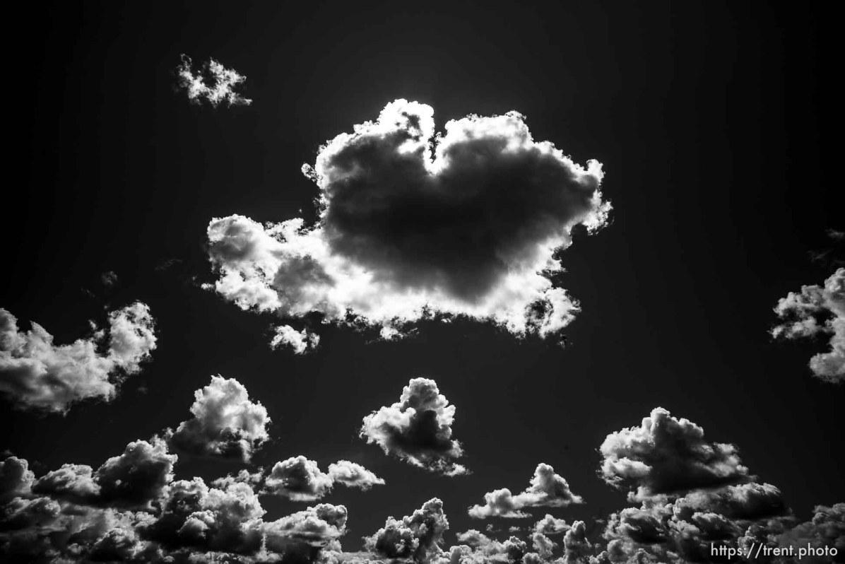 clouds Thursday June 20, 2019.