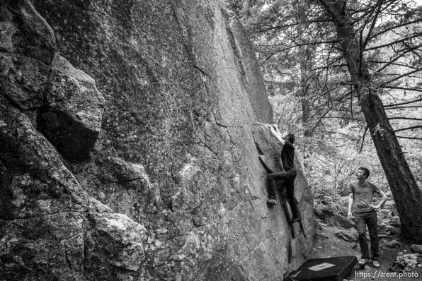 bouldering, Saturday June 29, 2019.