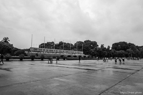 Ho Chi Minh Mausoleum, Hanoi, August 2, 2019