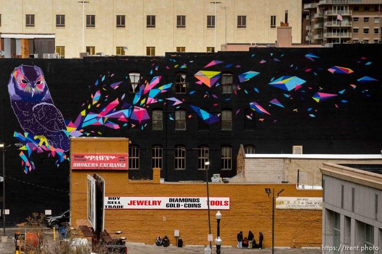 Downtown Salt Lake City is Empty – Coronavirus