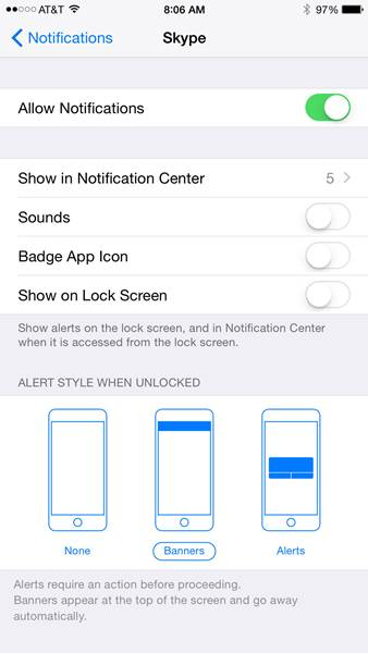 Trik iPhone_Menonaktifkan Notifikasi iPhone