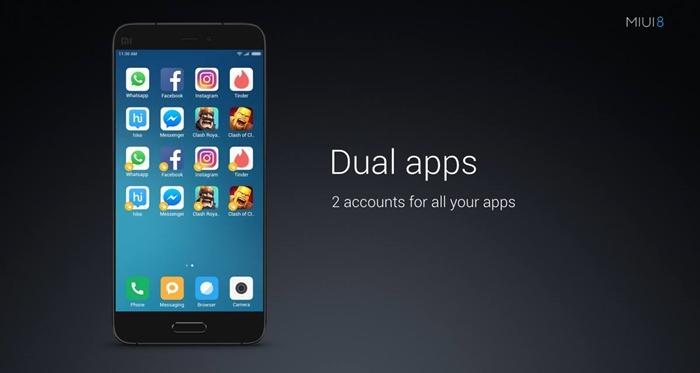 MIUI 8_Dual Apps