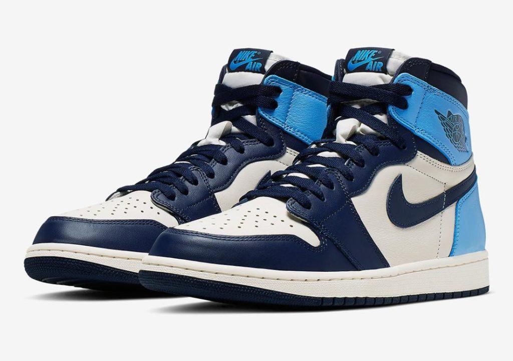 Nike-Air-Jordan-1-UNC-2019-Obsidian 555088-140