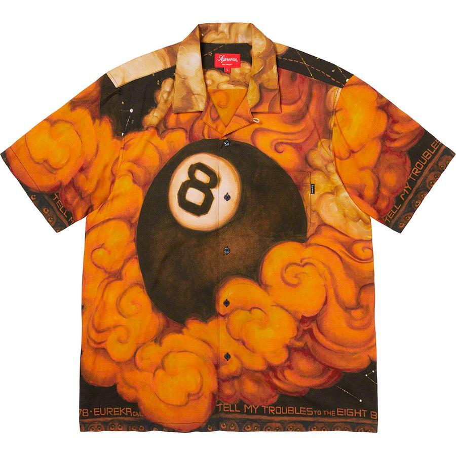 Supreme/Martin Wong 8-Ball Rayon Shirt