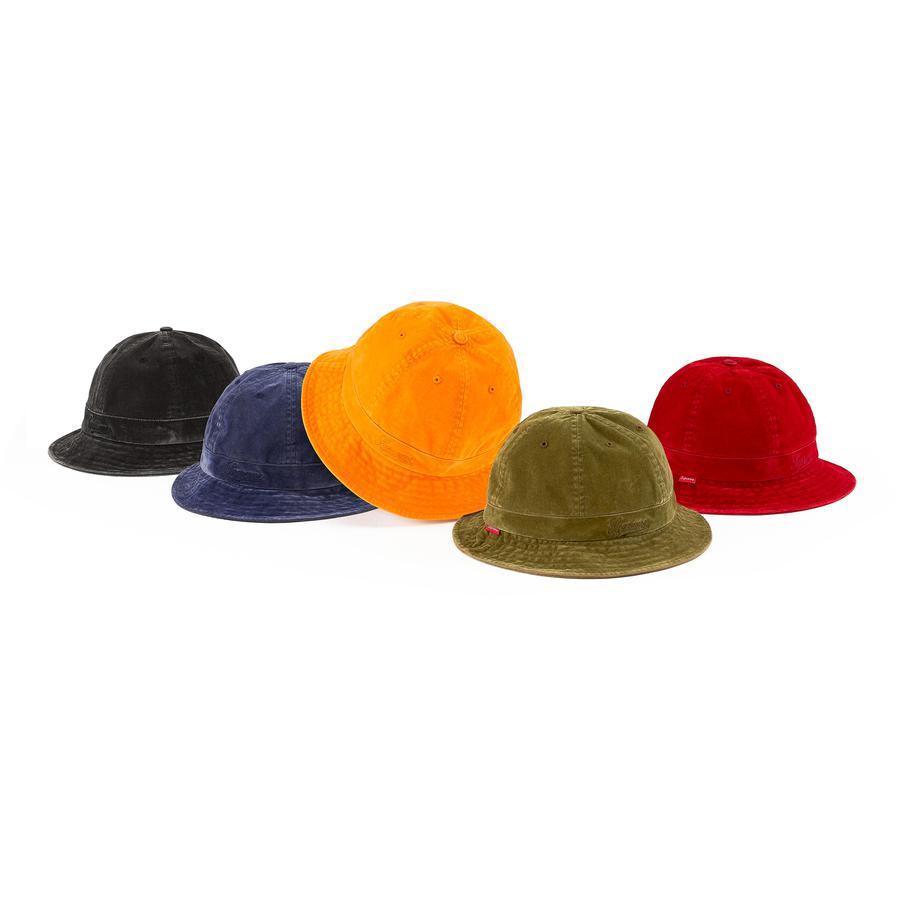 Supreme Washed Velvet Bell Hat