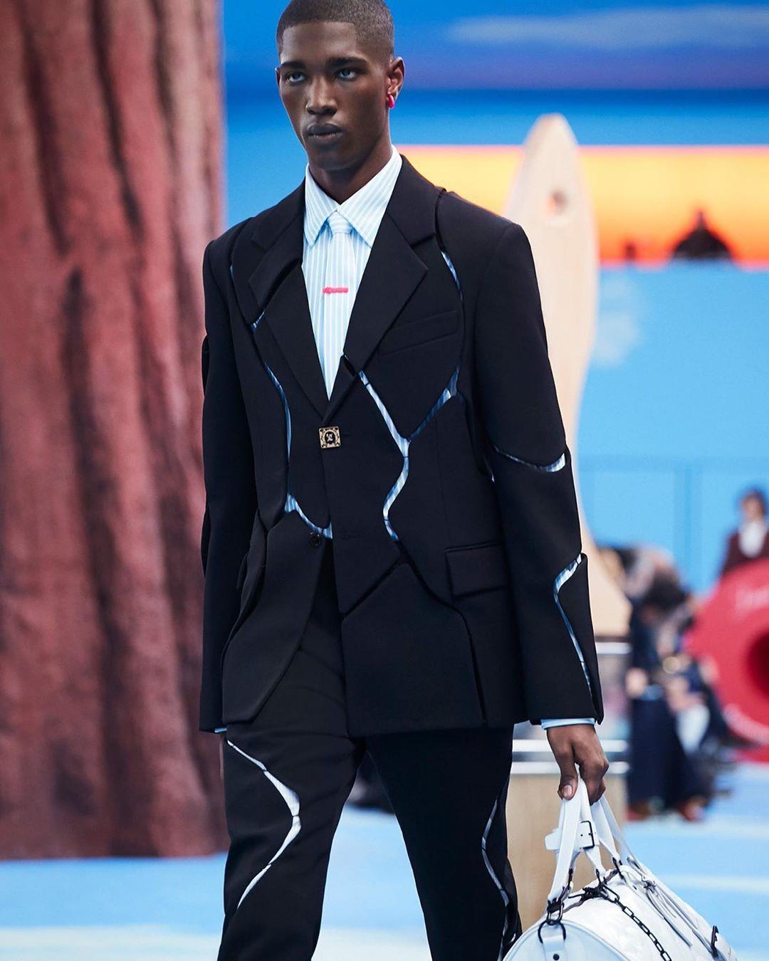 mannequin Louis Vuitton Paris Fashion Week 2020 PFW20