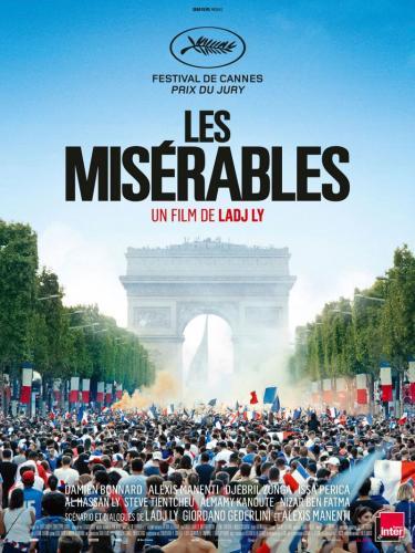 Affiche du film les misérables films 2019 / 2020