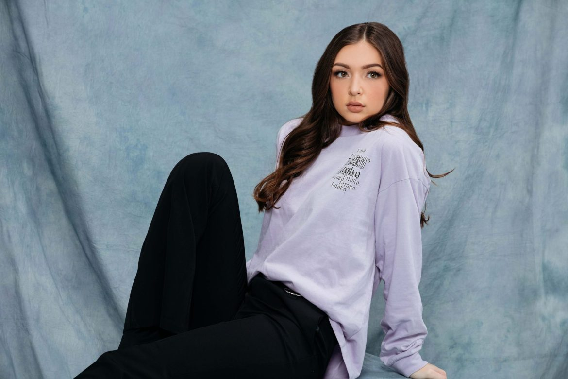 eva queen jennyfer collaboration long sleeve violet purple