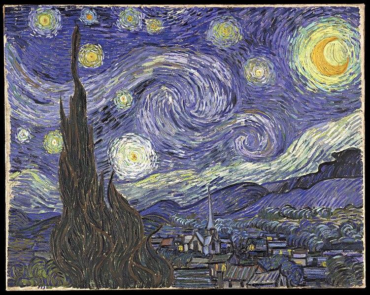 La Nuit étoilée, Van Gogh 1889