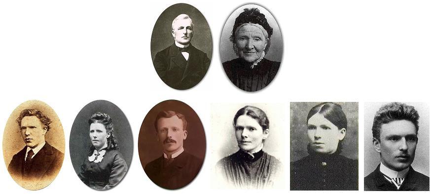 La famille de Vincent Van Gogh