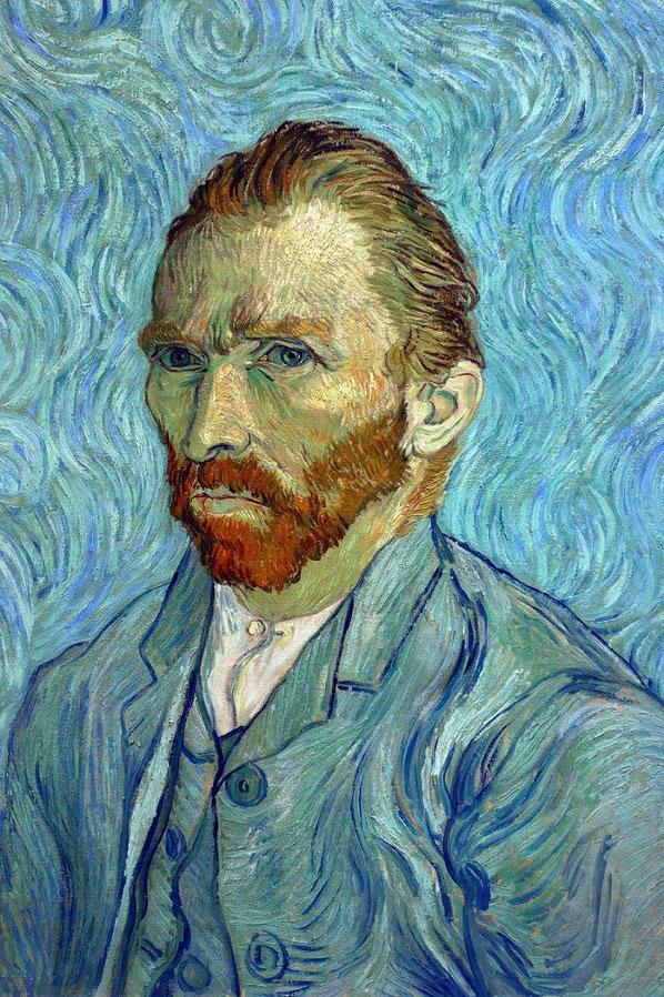 Autoportrait, Van Gogh 1889
