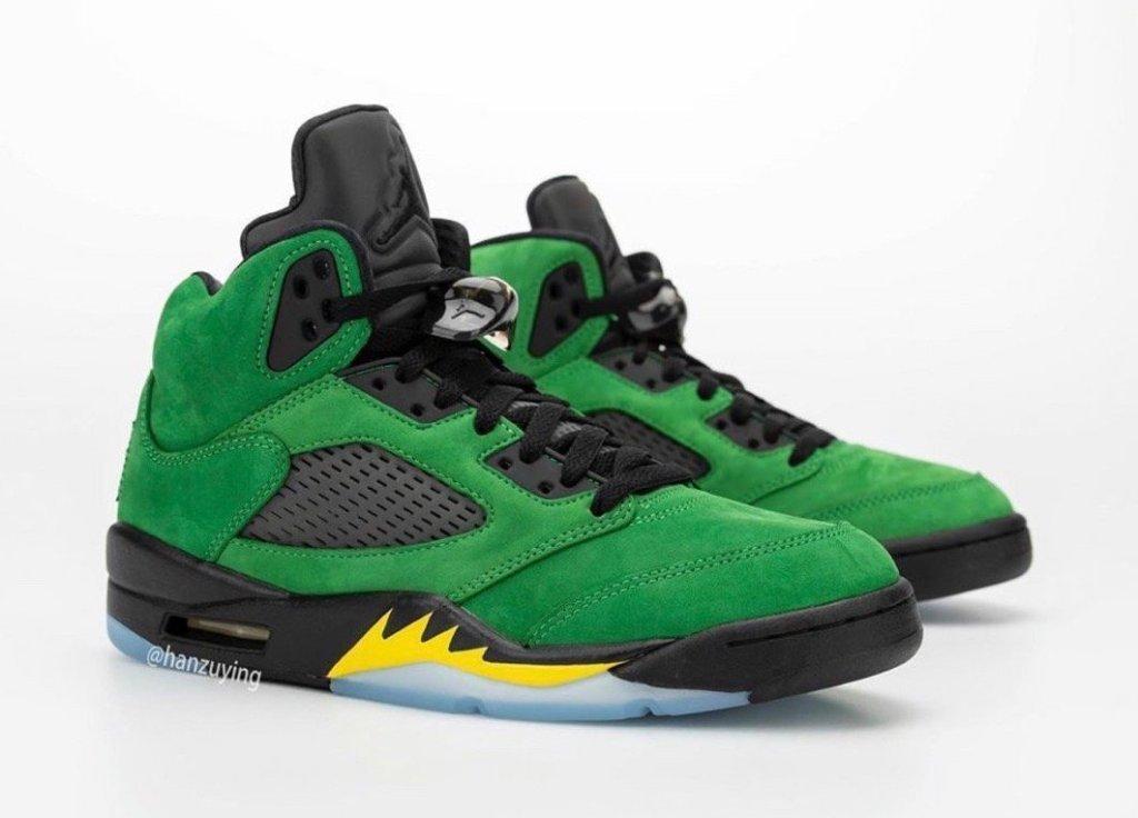 Air Jordan 5 Oregon Ducks