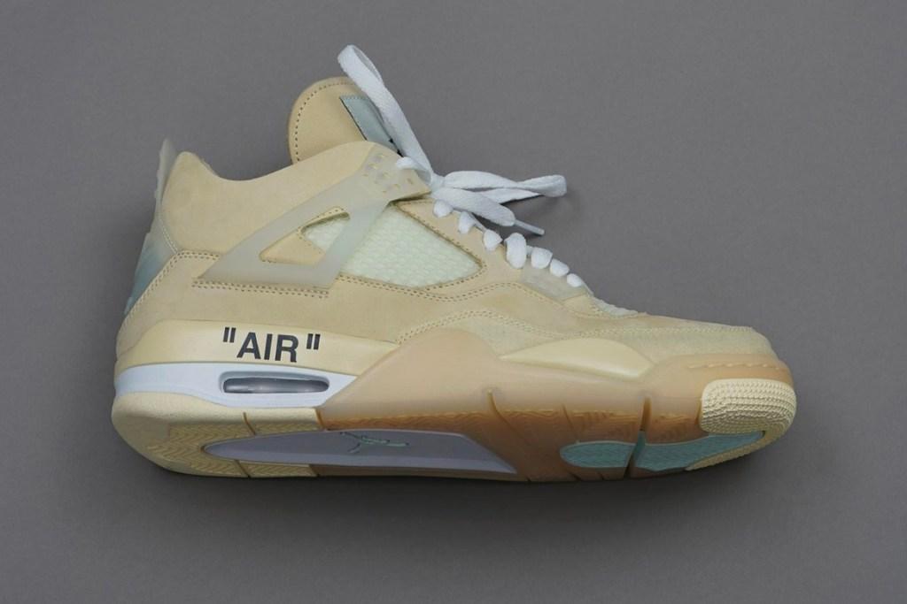 Off-White x Air Jordan 4 Cream
