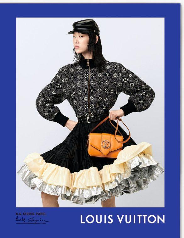 Sora Choi par Nicolas Ghesquière pour Louis Vuitton