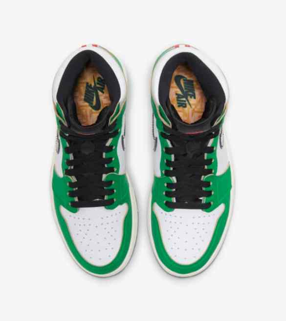 Air Jordan 1 WMNS Lucky Green