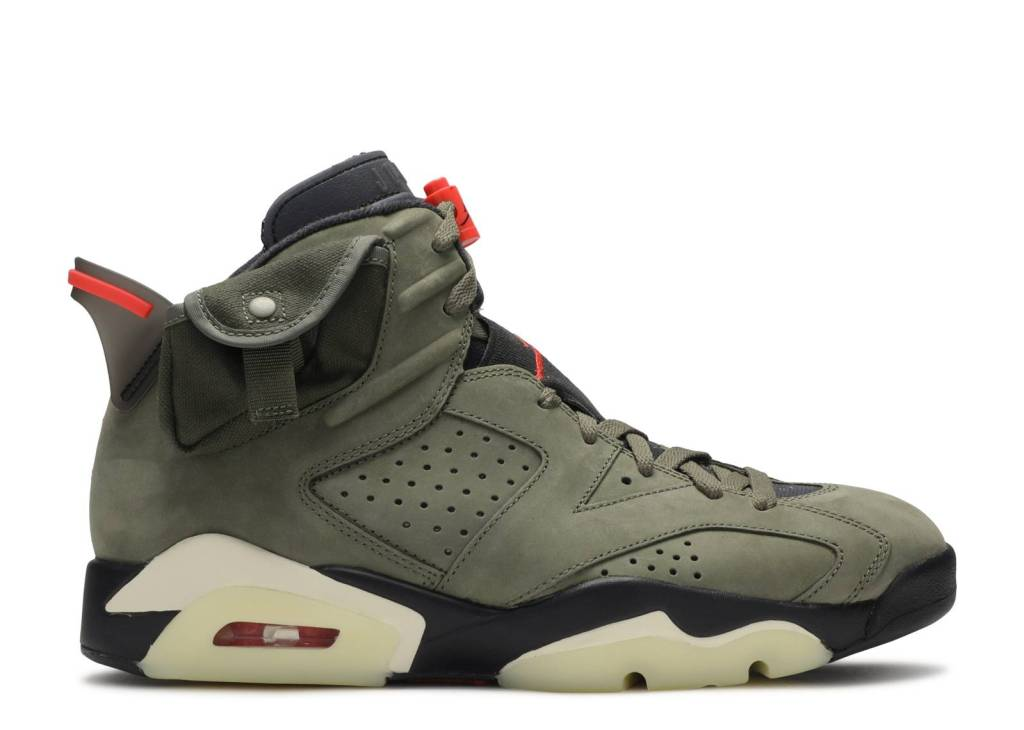 Travis Scott x Air Jordan 6 Olive