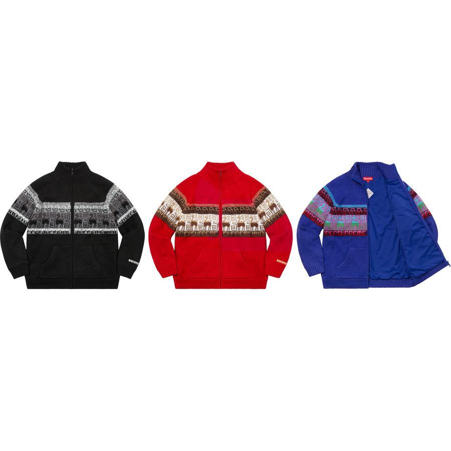 Supreme Chullo Windstopper Zip Sweater