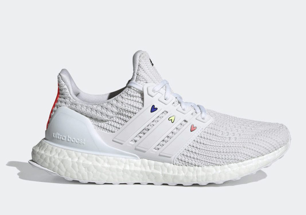 Adidas Ultra Boost 4.0 DNA Hearts White
