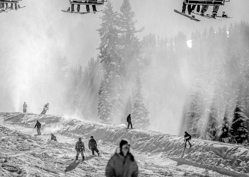 Opening day at Brighton Ski Resort, Tuesday November 13, 2012 in Brighton.
